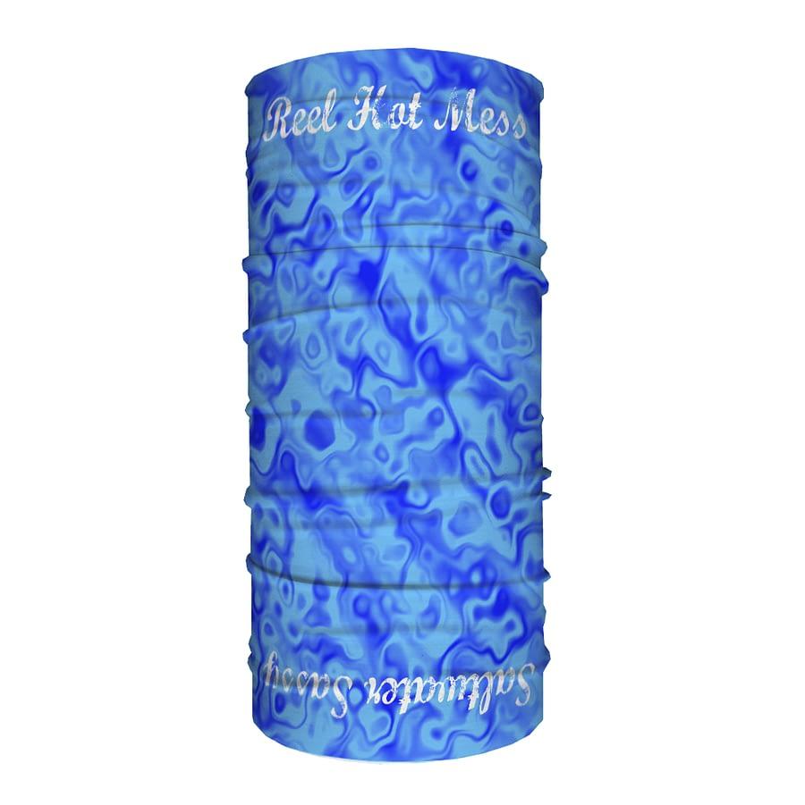 Sassy Tube Scarf -Blue