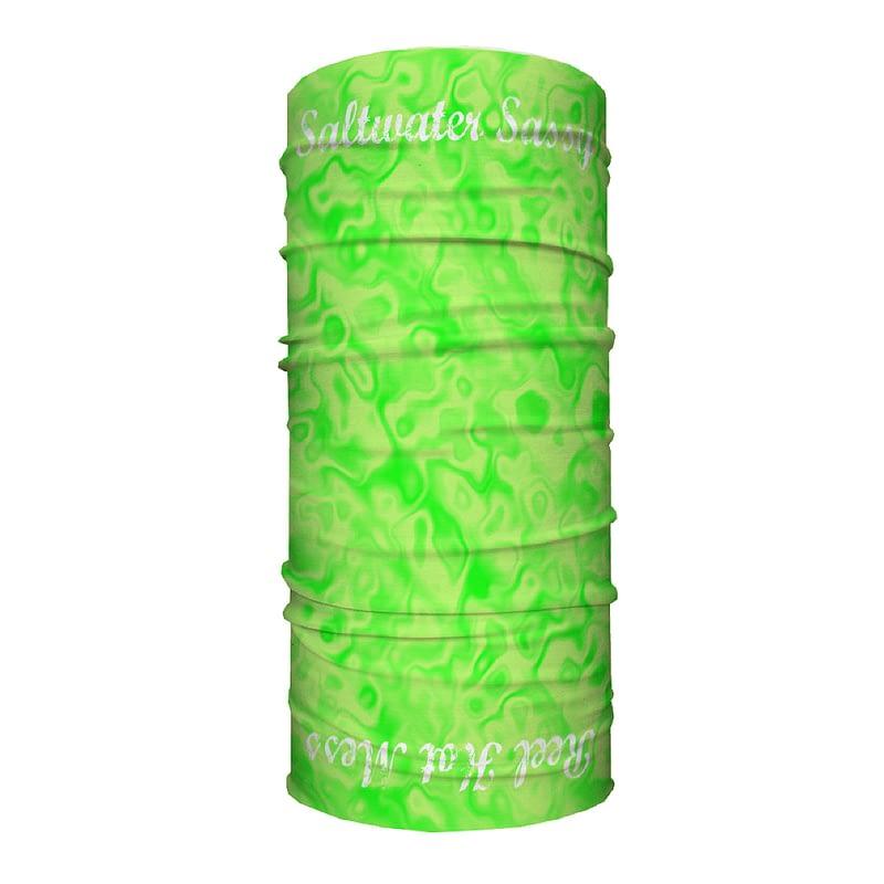 Sassy Tube Scarf-Green