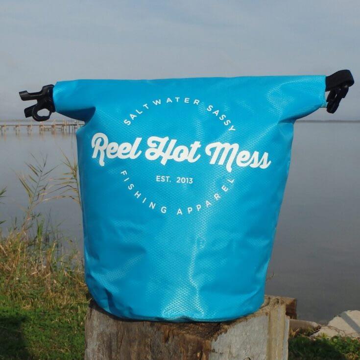Dry Bag Blue-White