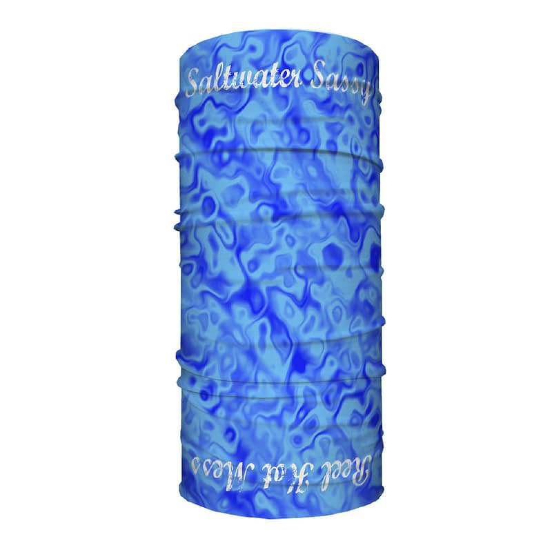 Sassy Tube Scarf-Blue